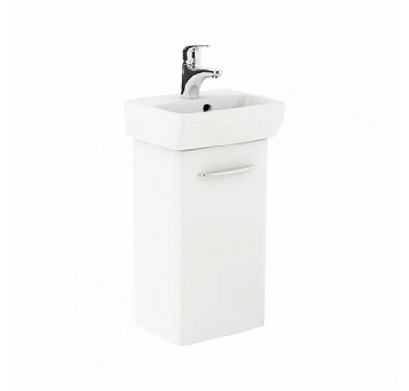 Комплект тумба+раковина Kolo Nova Pro M39001 36см белый глянец