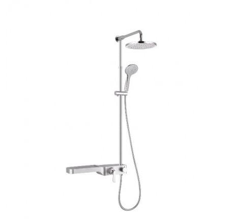 Душевая система Q-Tap Shower Panel SIL 1104