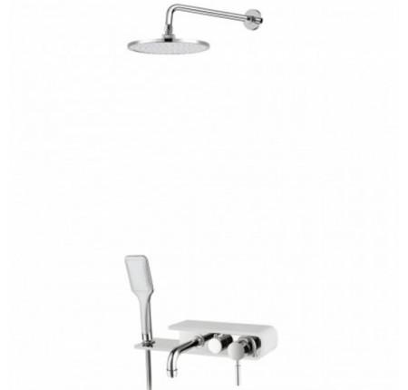 Душевая система Q-Tap Shower Panel WHI 1111
