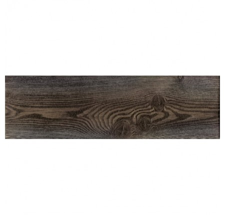 Плитка напольная InterCerama Pantal темно-коричневая 032 15х50 (м.кв)
