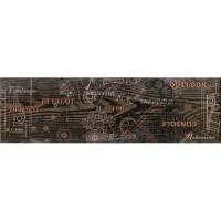 Напольный бордюр InterCerama Pantal коричневый 032 15х50 (шт)