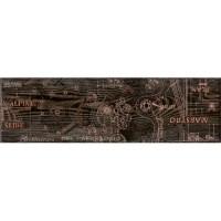 Напольный бордюр InterCerama Pantal коричневый 032-1 15х50 (шт)