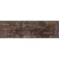 Напольный бордюр InterCerama Pantal красно-коричневый 022 15х50 (шт)