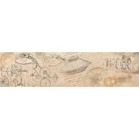 Напольный бордюр InterCerama Woodline 021 15х60 (м.кв)