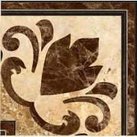 Декор InterCerama Emperador коричневый 031 13,7х13,7 (шт)