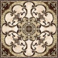 Панно InterCerama Emperador коричневый 031 86х86 (компл 4 шт)
