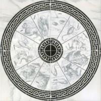 Панно InterCerama Alon серый 071 86х86 (компл 4 шт)