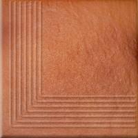 Клинкер Opoczno Solar Orange Steptread Corner Structura 30x30 (шт)