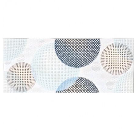 Бордюр широкий InterCerama Confetti серый 071 9,5х23 (шт)