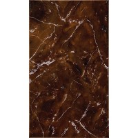 Плитка настенная InterCerama Pietra темно-коричневая 032 23х40 (м.кв)