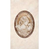Декор настенный InterCerama Pietra 031 коричневый 23х40 (шт)