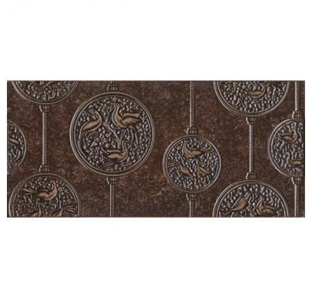 Декор настенный InterCerama Nobilis 032 коричневый 23х50 (шт)