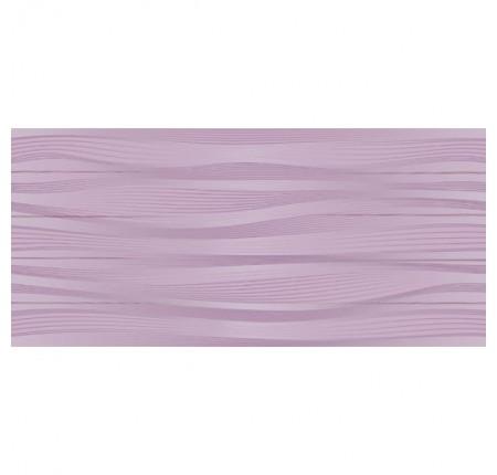 Плитка настенная InterCerama Batik темно-фиолетовая 052 23х50 (м.кв)