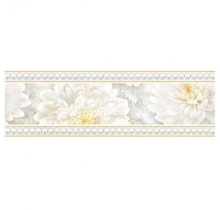 Бордюр широкий InterCerama Elegance серый 071 7,5х23 (шт.)