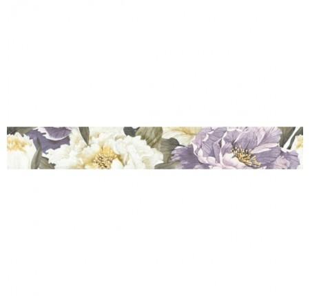 Бордюр вертикальный InterCerama Metalico 051 фиолетовый 7х50 (шт)