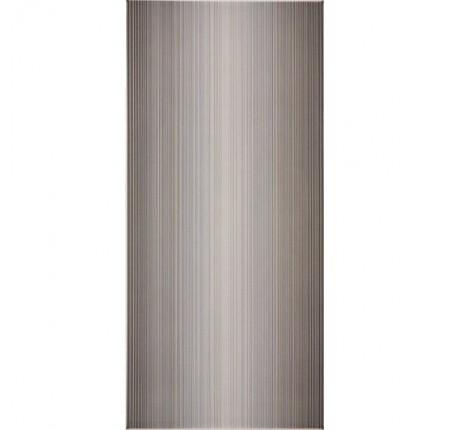 Плитка настенная InterCerama Stripe темно-серая 072 23х50 (м.кв)