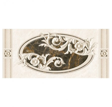 Декор настенный InterCerama Fenix серый 071-1 23х50 (шт)