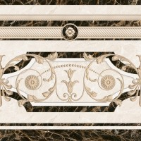 Декор напольный InterCerama Fenix бежевый 021-2 43х43 (шт)