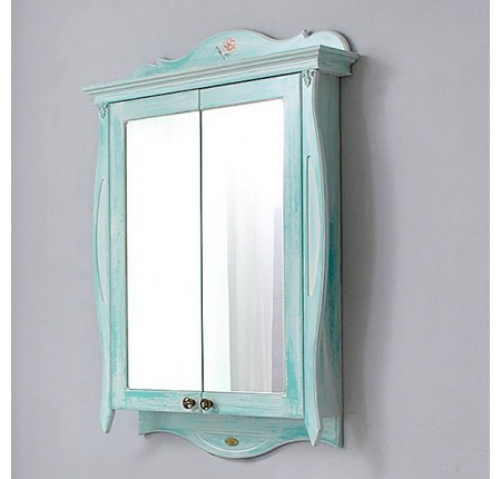 Шкаф зеркальный Ольвия (Атолл) Ривьера heaven