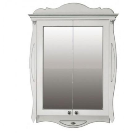 Шкаф зеркальный Ольвия (Атолл) Ривьера ivory