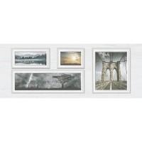 Декор настенный InterCerama Indy светло-серый 071 23х60 (шт)