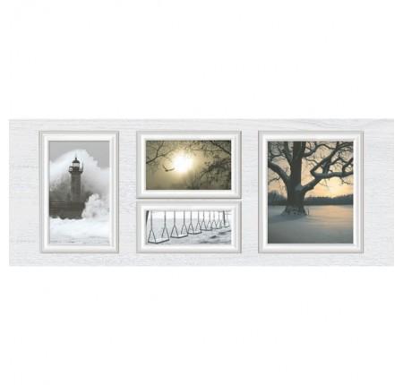 Декор настенный InterCerama Indy светло-серый 071-1 23х60 (шт)