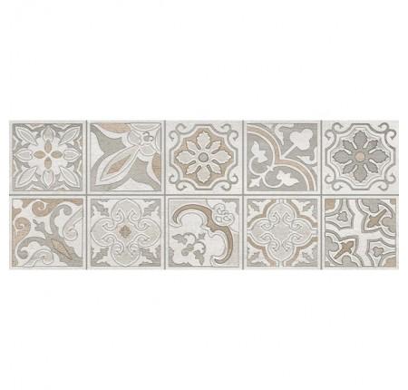 Декор настенный InterCerama Dolorian светло-серый 071-1 23х60 (шт)