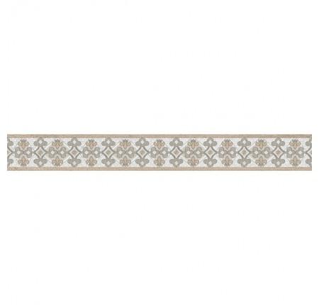 Бордюр вертикальный InterCerama Dolorian серый 071-1 7х60 (шт)