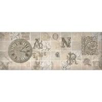 Декор настенный InterCerama Antica серый 072-3 15х40 (шт)