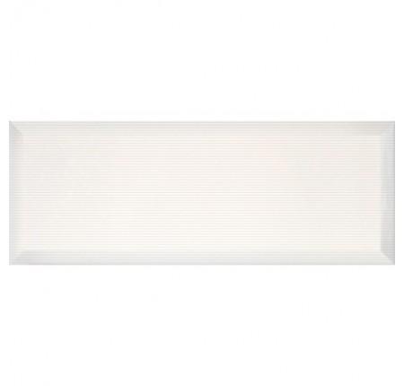 Плитка настенная InterCerama Pergamo белый 061 15х40 (м.кв)