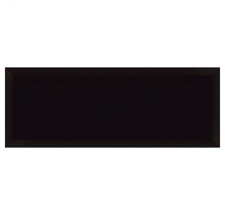Плитка настенная InterCerama Pergamo черный 082 15х40 (м.кв)