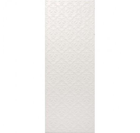 Плитка настенная InterCerama Arabesco белая 061 23х60 (м.кв)