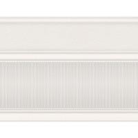 Бордюр широкий InterCerama Arte белый 061 17,5х23 (шт)