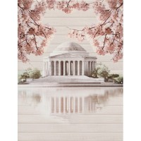 Панно Cersanit Sakura дворец 45x60 (компл)