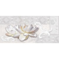 Декор настенный InterCerama Rene серый 071-1 23х50 (шт)