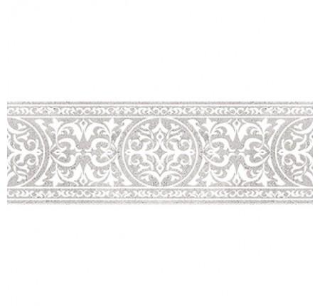Бордюр широкий InterCerama Rene серый 071-2 7,5х23 (шт)