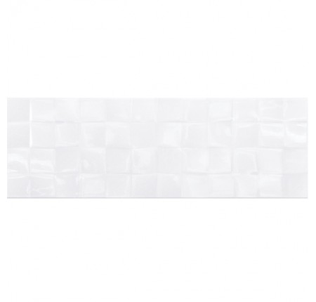 Плитка настенная Cersanit Simple Art White Glossy Structure Cubes 20x60 (м.кв)