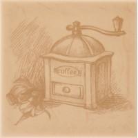 Декор настенный Atem Imola Coffee B 100x100 (шт)