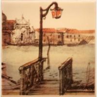 Декор настенный Atem Parma Pier B 100x100 (шт)