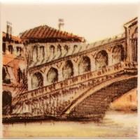 Декор настенный Atem Parma Sity Bridge 1 B 100x100 (шт)