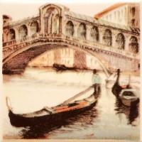 Декор настенный Atem Parma Sity Bridge 2 B 100x100 (шт)