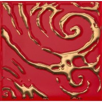 Декор настенный Atem Orly Versus R Gold 100x100 (шт)