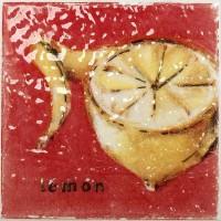 Декор настенный Atem Orly Streza Lemon W 100x100 (шт)
