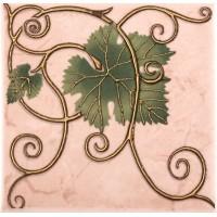 Декор настенный Atem Imola Grape 1 Leaf 100x100 (шт)