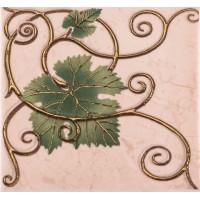 Декор настенный Atem Imola Grape 2 Leaf 100x100 (шт)