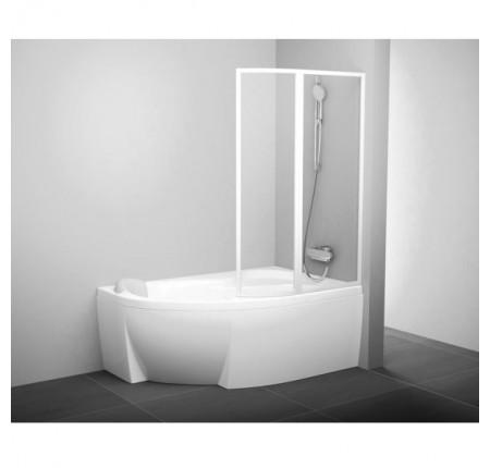 Шторка для ванны Ravak VSK2 Rosa 170 L/R rain