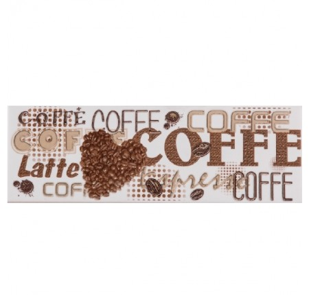 Декор настенный Atem Note Coffee1 B 100x300 (м.кв)