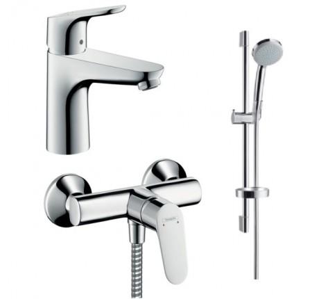 Набор для ванной комнаты Hansgrohe Focus 31607000+31960000+ 27772000