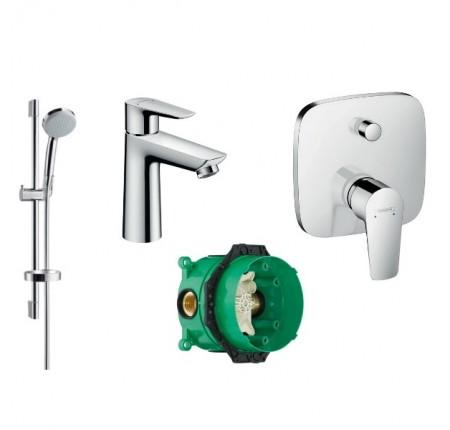 Набор для ванной комнаты Hansgrohe Talis E 71710000+ 27772000+71745000+ 01800180