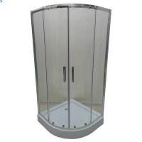 Душевая кабина Veronis KN-3-80 80х80х195, прозрачное стекло
